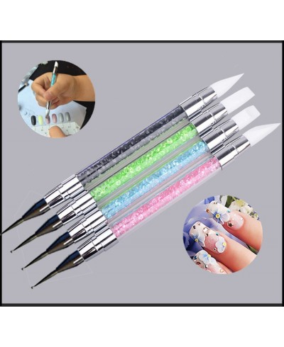 SET 4 PENNELLI SILICONE NAIL ART