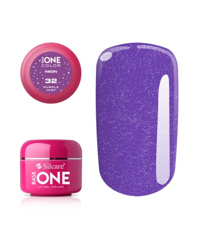 GEL UV SILCARE NEON PURPLE MIST 5ML